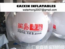 Custom inflatable helium Pvc inflatable helium balloon /advertising inflatable ballon