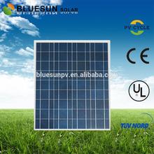 Bluesun best poly 220w price per watt solar panels made in china