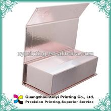 Chinese OEM printing manufactory cheap hand fan gift box handmade