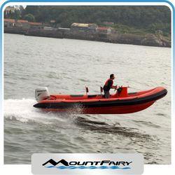 Fiberglass Boat Inflatable Rib For Sale