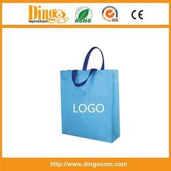 customized logo promotion pp non woven shopping bag