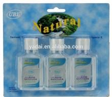 59.25 mL*3 - 3PK Waterless Hand Sanitizer Essentials Cleanser