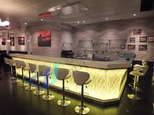 Modern nightclub lighting acrylic bar counter/modern bar countertop design
