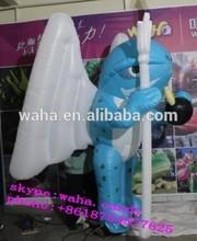 2m high amazeing pub decoration ,inflatable cartoon, customized cartoon decoration Candy-03452