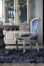 Divany Furniture european classical dinning chair luxury modern leisure fabric chair