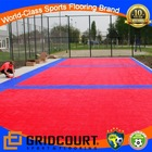 outdoor professional paddle tennis floor tiles