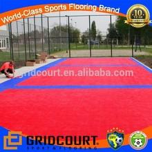 outdoor professional paddle tennis floor tiles