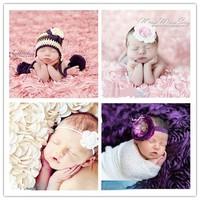 2015New Design 100cm x 135cm Rose Blanket Newborn Photography Props Baby Photo Backdrop Blanket