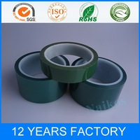 0.05~0.09mm thickness High temperature Green Polyester adhesive tape for 3D Printer