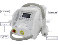 1064nm 532nm nd yag laser tattoo removal machine