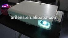Business & education 3D LED DLP 3800 lumens proiettore/professional projector