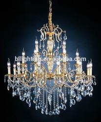 Cristal modern zinc alloy chandelier manufacturers