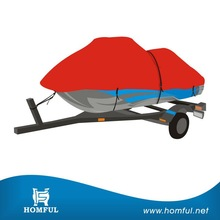 Top quality PVC backed all weather protection 2 Seater Jet Ski Cover