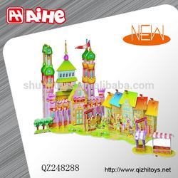 EPS puzzle 3d,3d model puzzle,educational puzzle toys for kids