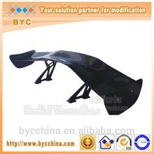 Universal 3D Single Deck Carbon Spoiler, Racing Car Rear Spoiler
