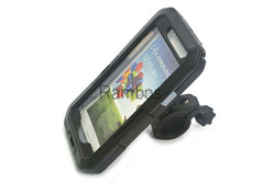 Mobile Phone Bike Bicycle Handlebar Mount Holder Cradle Waterproof Case Cover for Samsung Galaxy S3 i9300 S4 i9500