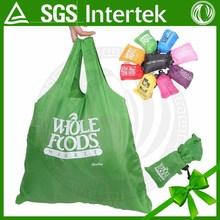 hot selling fashional custom foldable nylon shopping bag
