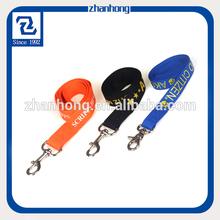 Narrow customized polyester decorative dog collars
