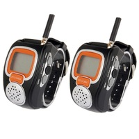 462MHz-467MHz Freetalker Watch Walkie Talkie, Up to 6km of Range, 2pcs in one packaging, the price is for 2pcs