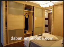 Jisheng brand home storage furniture Made in China design wood wardrobe/sliding folding wardrobe doors