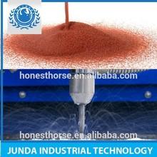 Marble/Mild Steel/Phenolics/ Plastics/Rubber/Stainless Steel waterjet cutting 80 grit garnet sand