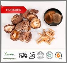 Best selling Shitake mushroom extract, 100% Natural Polysaccharide 10-50%