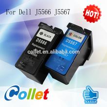 For Dell J5566 J5567 Ink Cartridge remanufactured ink cartridge for remanufactured ink cartridge for J5566 J5567