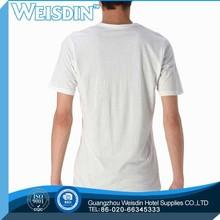 Hot sale clothing linen promotional cheap fashion tshirts womens black cotton tshirts