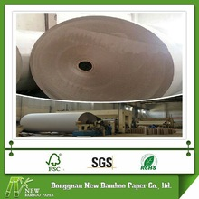 Gray stiff board 400gsm sheet recycled manufacturers waste paper