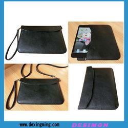 multipurpose cowhide case for Ipad mini