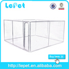 2015 hot selling chain link rolling outdoor galvanized steel dog cage