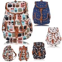 New Girl Vintage Flower Backpack School canvas backpack blank SV004106