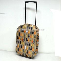 2015 new style cute&lovely girl travel EVA luggage