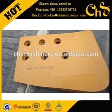 shantui SD08,SD13,SD16,SD22,SD32,SD42 bulldozer undercarriage spare parts 150-70-21356 left bit end cutting edge
