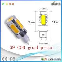 2015 New style cob led gy6.35 bulb lamp , cob g9 led light bulb 15w