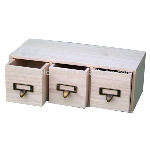 2014 nouvelle main de conception petit tiroir en bois for Rangement tiroir en bois