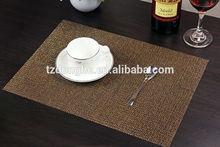 environmental PVC/textiilene eco-friendly microfabric placemat