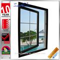 de alta calidad estándar as2047 ventanas francés con diseños templado y vidrio de seguridad
