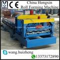 الصين تحكم plc التلقائي البلاط المزجج تشكيل آلة، بلاط السقف المعدني آلة