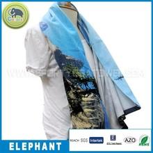 Good for beach and sport high quality custom colorful artwork digital print cotton terry towel