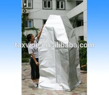 aluminum foil bags for packing big machines