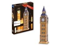 47 Pieces Puzzle 3D DIY Architecture Model Of Big Ben Jigsaws Puzzle,Jigsaws Puzzle Paper Toy