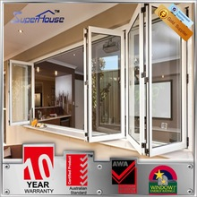 AS2047 thermal break custom aluminium architectural windows and doors with mosquito net