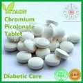 300 mg iso gmp Zertifikat und oem-private-label Chrompicolinat Diabetes-Tabletten