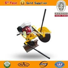 new type railway construction of rail cut machine