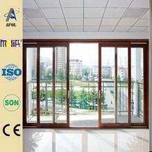 Zhejiang AFOL hot sale aluminum glass door and window frame