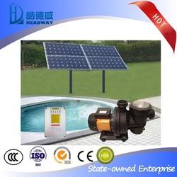 Swimming Pool Solar Water Pump with solar panels,sensors,pump,controller,etc.