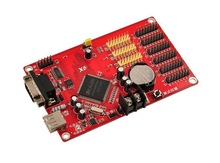new design async full color p10 led display controller card X6 infinite areas and programs