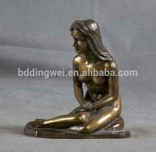 DWT231 Antique Nude Woman Bronze Sculptures for sale