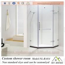 standard size shower room